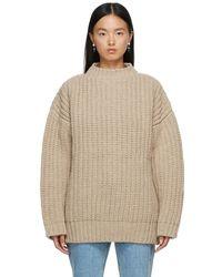 Baserange Mea セーター - ナチュラル