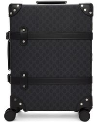 Gucci - Black Globe-trotter Edition GG Carry-on Suitcase - Lyst