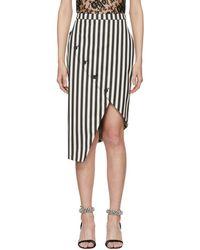 Altuzarra - Black And White Paul Bert Skirt - Lyst