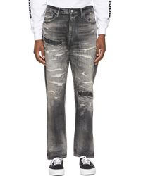 Neighborhood Black Scratch Savage Mid/c-pt Jeans