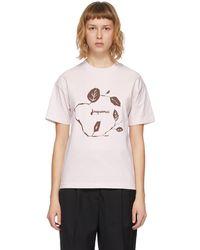 Jacquemus ピンク Le T-shirt Jean T シャツ