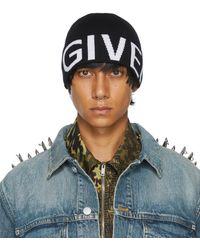 Givenchy ブラック ロゴ ビーニー
