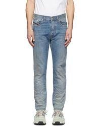 DIESEL - Blue Mharky Jeans - Lyst