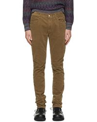 Nonnative - Brown Tapered Dweller Jeans - Lyst