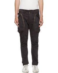 Faith Connexion Pantalon cargo noir Classic