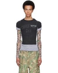 Liam Hodges Grey & Black Valine T-shirt