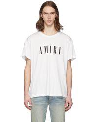 Amiri - ホワイト コア T シャツ - Lyst