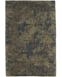 Carhartt WIP Green Voited Edition Camo Prentis Blanket
