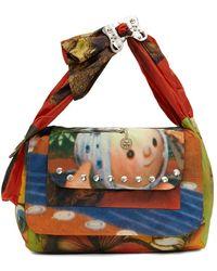 Chopova Lowena Printed Bird & Baby Bag - Multicolour
