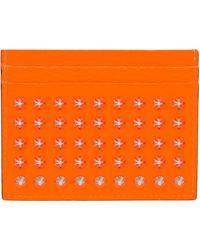 Christian Louboutin オレンジ Kios カード ケース