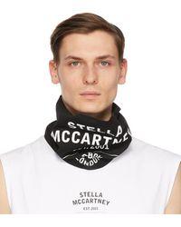 Stella McCartney Shared コレクション ブラック Obs 23 バンダナ