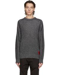 HUGO ブラック Shair セーター