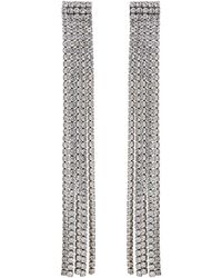 Marc Jacobs - Silver River Earrings - Lyst