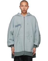 Fumito Ganryu Grey Mods Parker Hoodie