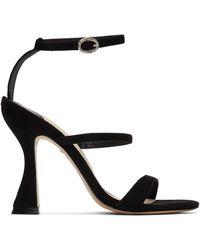Sophia Webster - Black Suede Rosalind Hourglass Sandals - Lyst
