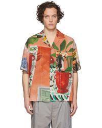 Jacquemus Multicolour La Chemise Jean Short Sleeve Shirt