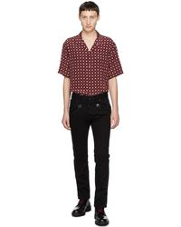 DSquared² - Black Bull Cropped Flare Jeans - Lyst