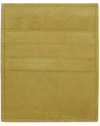 Rick Owens - Yellow Card Holder - Lyst