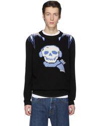 COACH ブラック Bonesy セーター