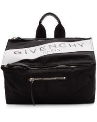 Givenchy Sac messager noir Paris Pandora