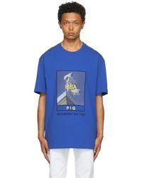 Hood By Air Veteran Cctv T-shirt - Blue