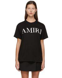 Amiri ブラック Bandana ロゴ T シャツ