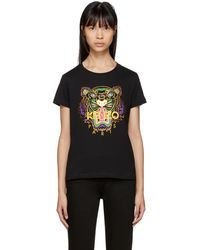 KENZO | Black Limited Edition Holiday Tiger T-shirt | Lyst