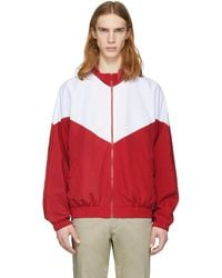 Noon Goons | Red And White Mall Jogger Jacket | Lyst