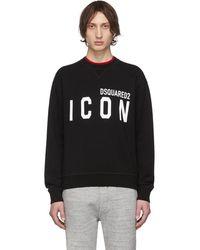 DSquared² Black Icon Sweatshirt