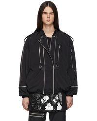 99% Is Black Zip Jacket