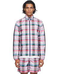 Noah Adidas Originals Edition マルチカラー チェック ランニング ジャケット