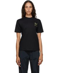 Off-White c/o Virgil Abloh Black Mini Leaf Arrows T-shirt