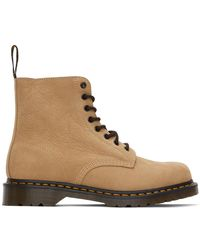 Dr. Martens - タン 1460 Pascal ブーツ - Lyst