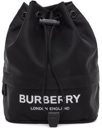 Burberry - ブラック エコニール® Phoebe ポーチ - Lyst