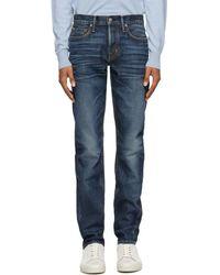 Tom Ford - Blue Japanese Selvedge Denim Jeans - Lyst