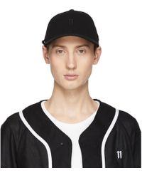 Boris Bidjan Saberi 11 New Era Edition ブラック ロゴ ベースボール キャップ