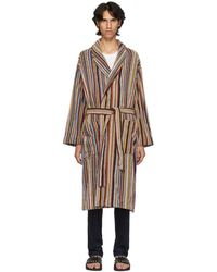 Paul Smith - Multicolour Artist Multistripe Robe - Lyst