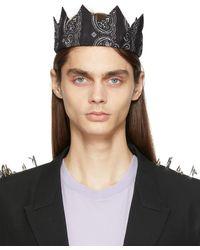 Givenchy Crown Bandana ヘッドバンド - ブラック