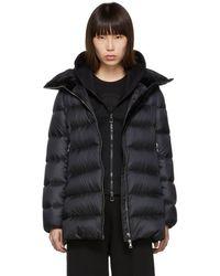 Moncler Black Down Torcon Jacket