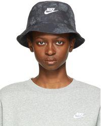 Nike Sportswear Tie-dye Bucket Hat - Black