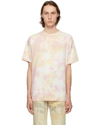 John Elliott - T-shirt à motif tie-dye rose University - Lyst