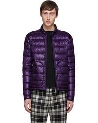 Moncler Purple Down Acorus Jacket