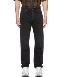 Séfr Straight-cut Jeans - Black