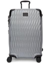 Tumi - Red Aluminium International Carry-on Suitcase - Lyst