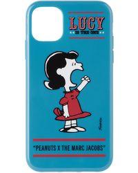 Marc Jacobs - Peanuts エディション ブルー Lucy Iphone 11 ケース - Lyst