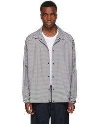 Paa Grey And White Spectator Jacket