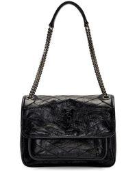 Saint Laurent - Black Medium Niki Bag - Lyst
