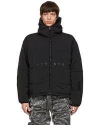99% Is Black Padded Arm Flameproofing Jacket