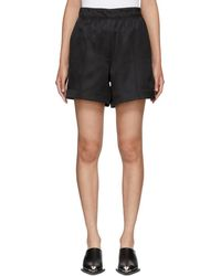 Helmut Lang - Black Pull-on Shorts - Lyst