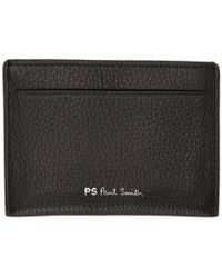 PS by Paul Smith - Black Multistripe Card Holder - Lyst
